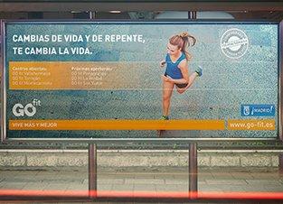 GO fit. Campaña Captación