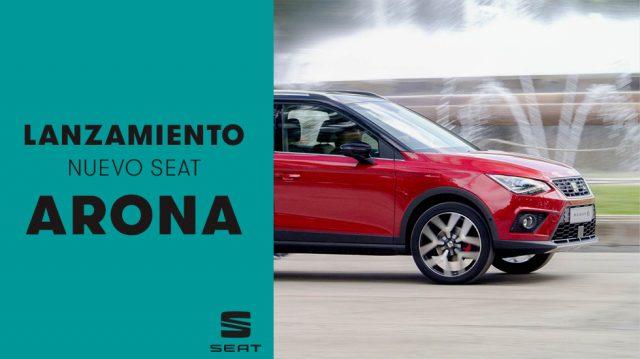 SEAT Concesionarios de Madrid lanza en medios su nuevo crossover Arona de la mano de R*